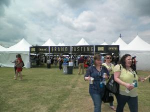 Grand Tasting tents awaits