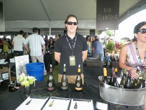 Views from the Grand Tasting tents.