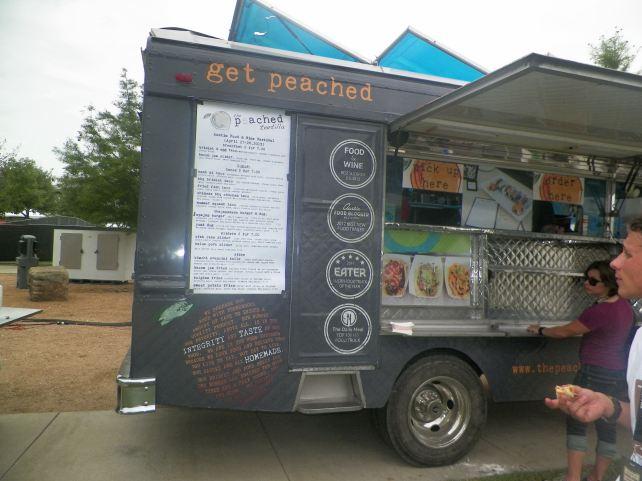 Food trucks were there too.