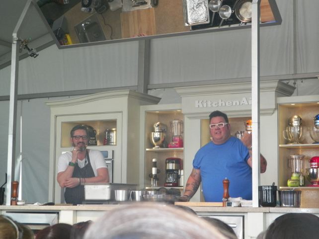 Graham Elliot of Chicago.. I must visit his restaurant.